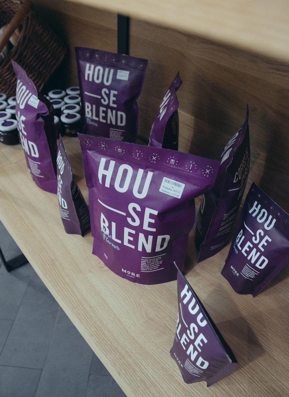 More Marooj house blend coffee