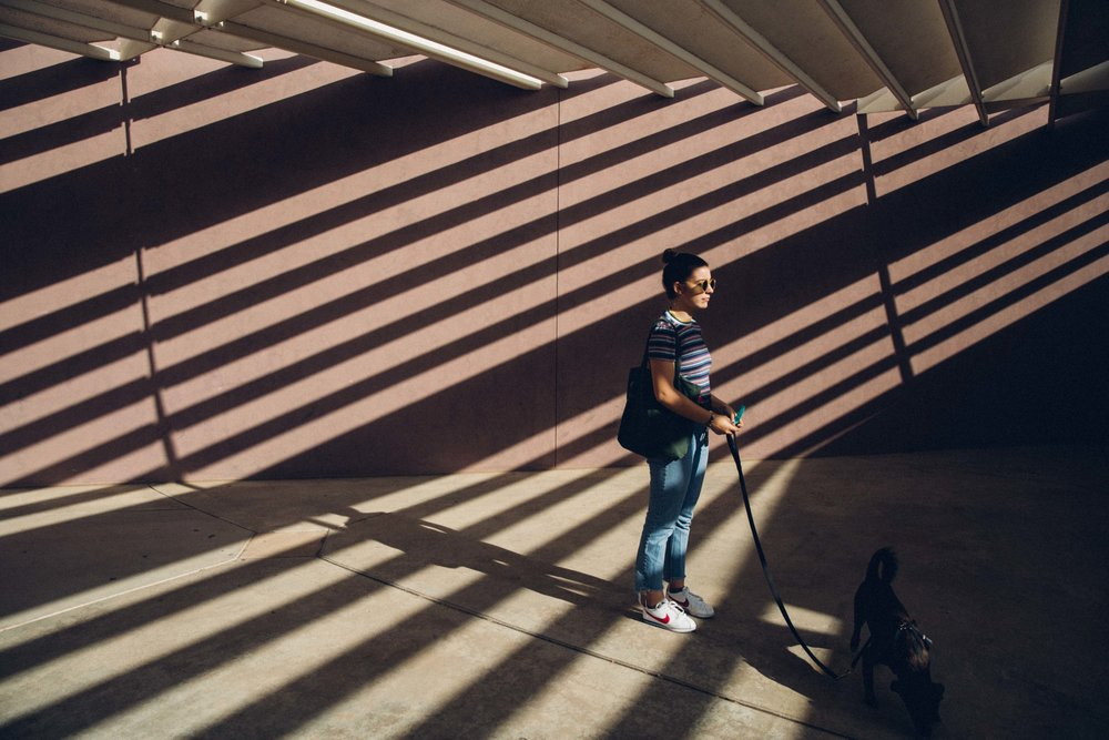 Joana in the shadows ASU architecture