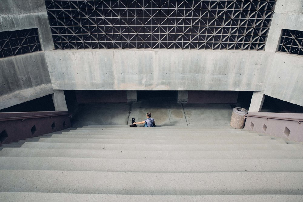 ASU art building amphitheatre