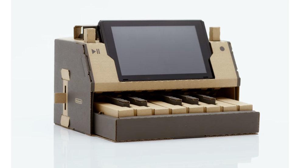 Nintendo Labo keyboard