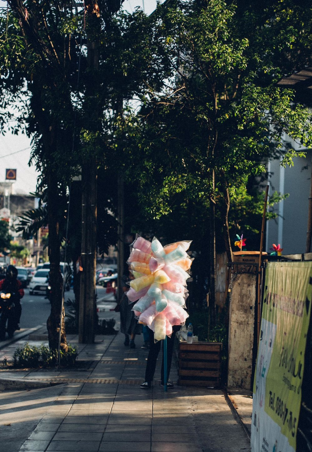 candy floss bangkok