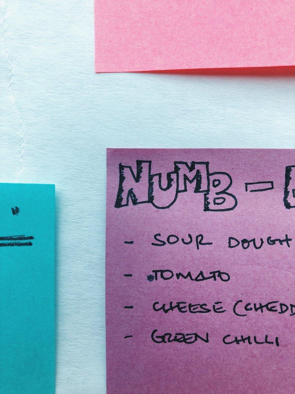 The numb-er