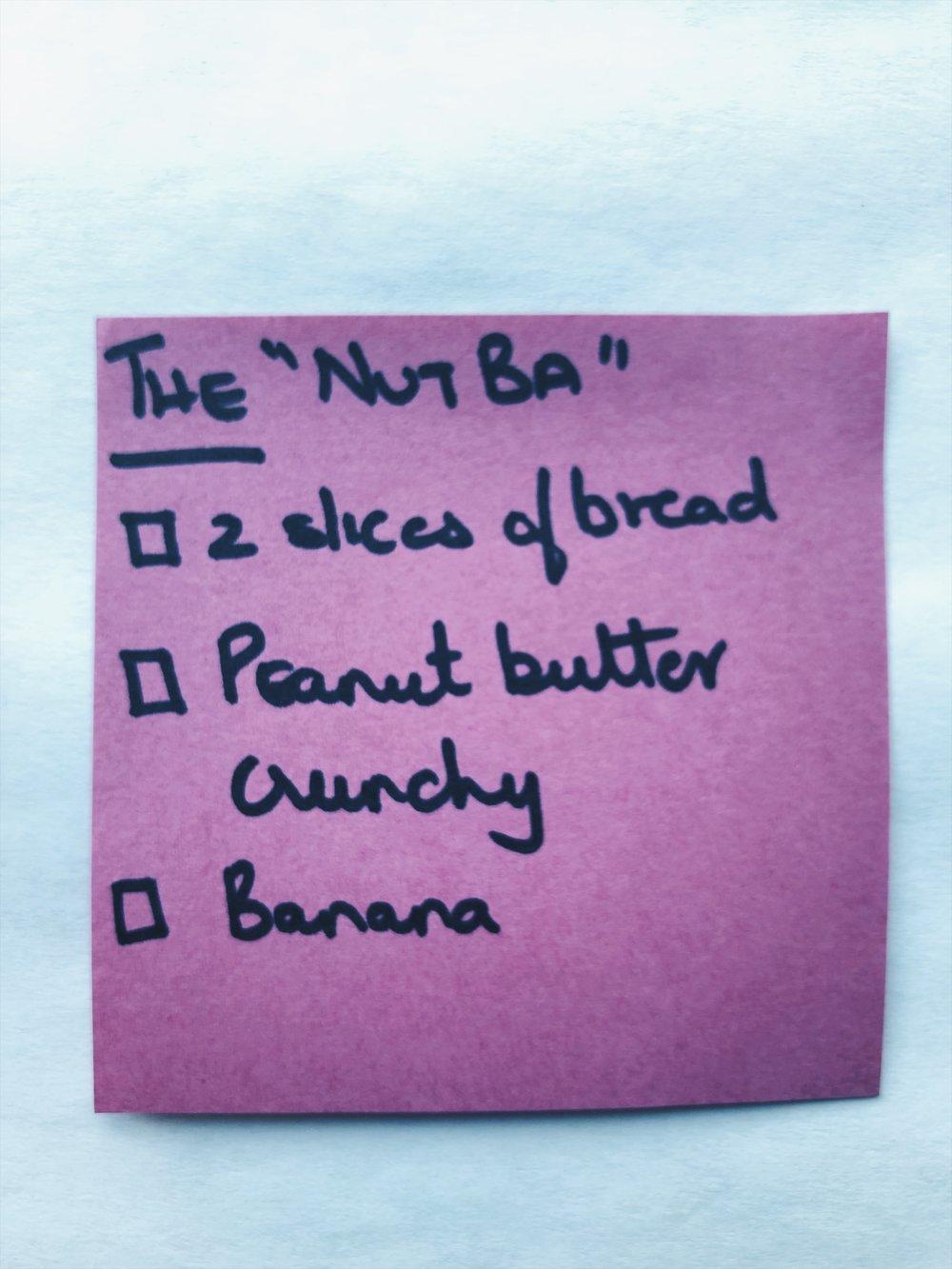 The nut-ba