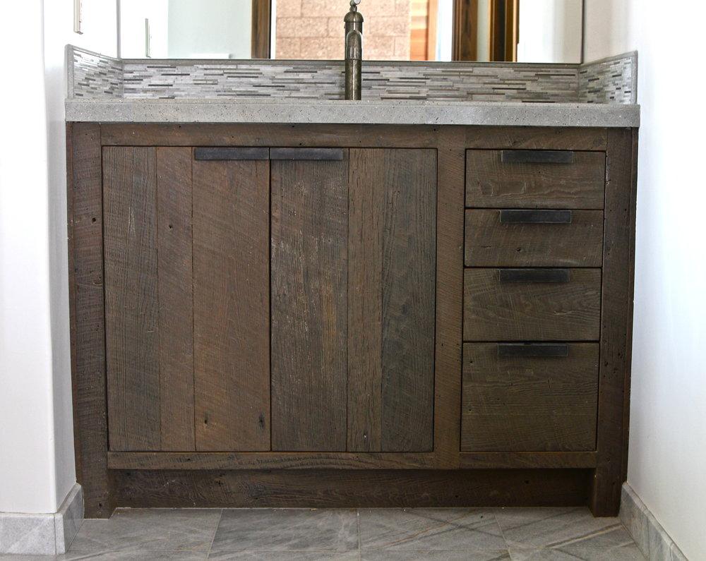 Rustic Modern Bathroom Vanities Ben Riddering