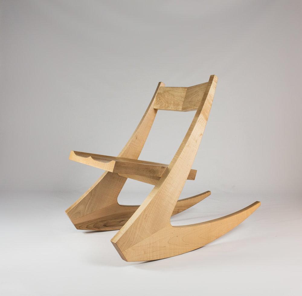 ben-riddering-maple-hairpin-midcentury-modern-rocking-chair