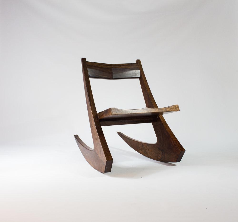 ben-riddering-walnut-hairpin-midcentury-modern-rocking-chair
