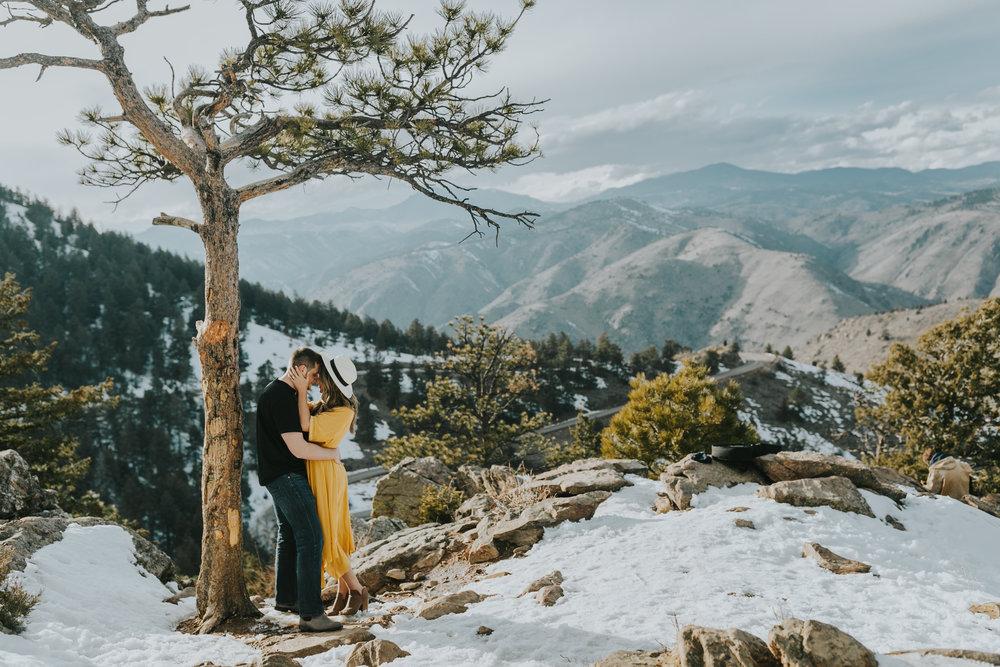 Lookout Mountain Park Denver Colorado Engagement Session Colorado Wedding Photographer-33.jpg