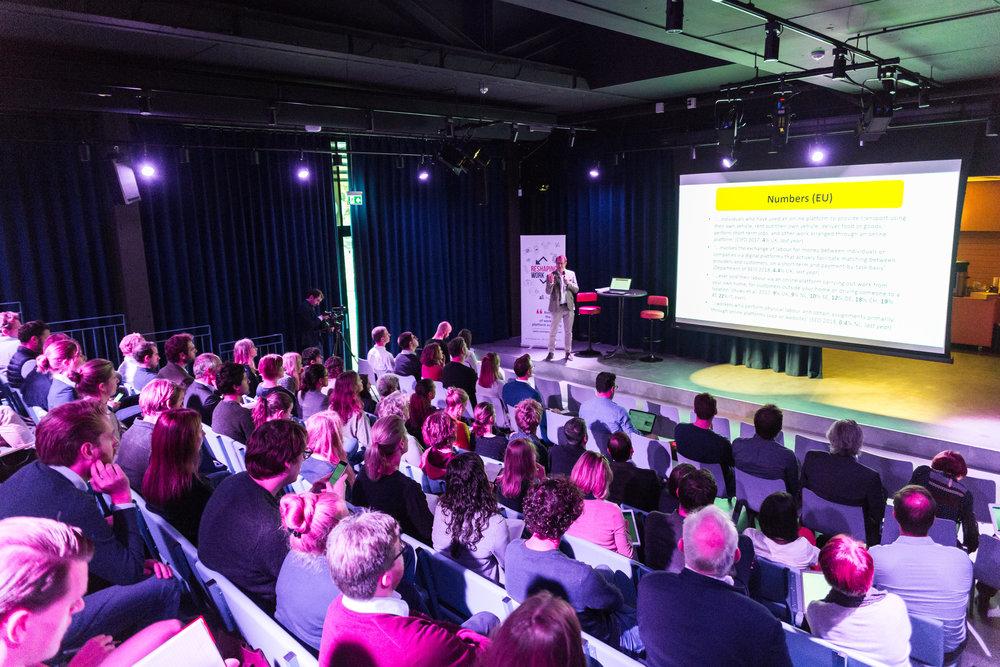 Keynote Speakers - Included Matthew Taylor, Chief Executive of RSA, Laura Esnaola, Managing Director of Care.com Europe, Juliet Schor, Professor at Boston College and Koen Frenken, Professor in Innovation Studies at Utrecht University. READ MORE