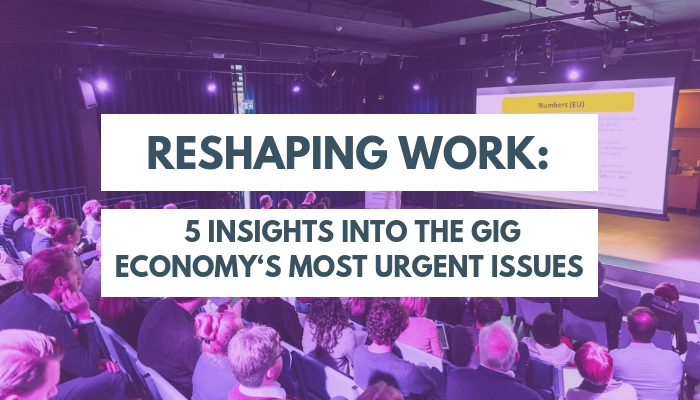 Reshaping Work: 5 insights into the gig economy's most urgent issues - www.martijnarets.com