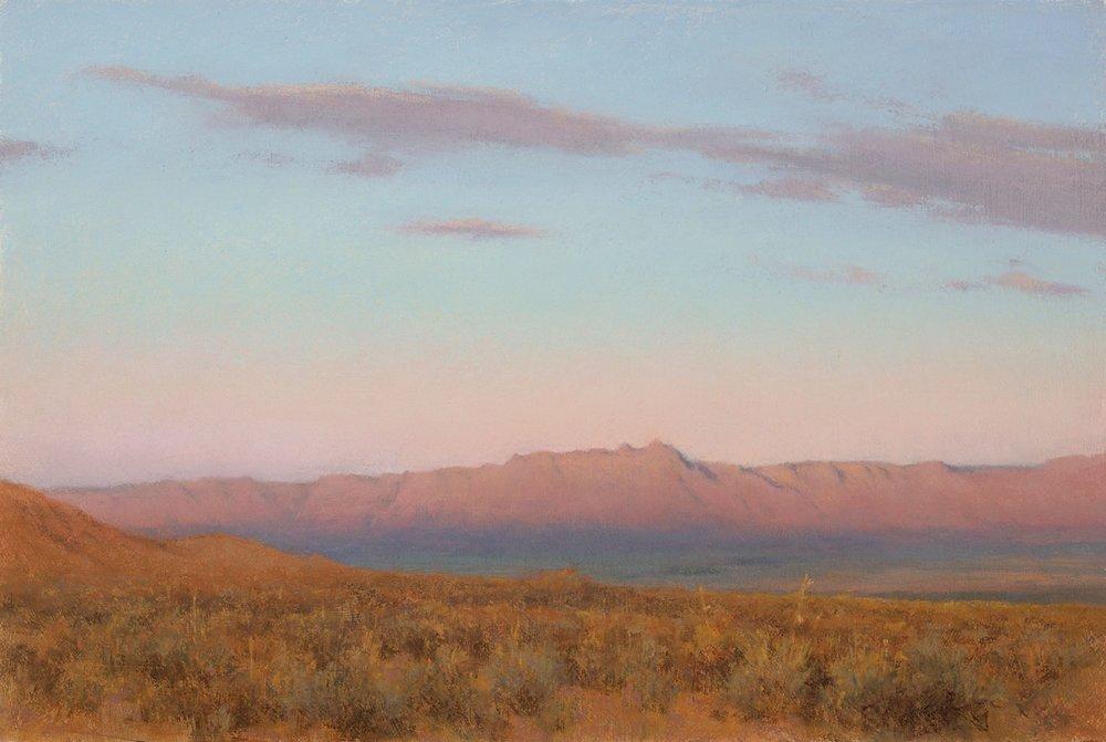 Evening's Veil - Vermillion Cliff