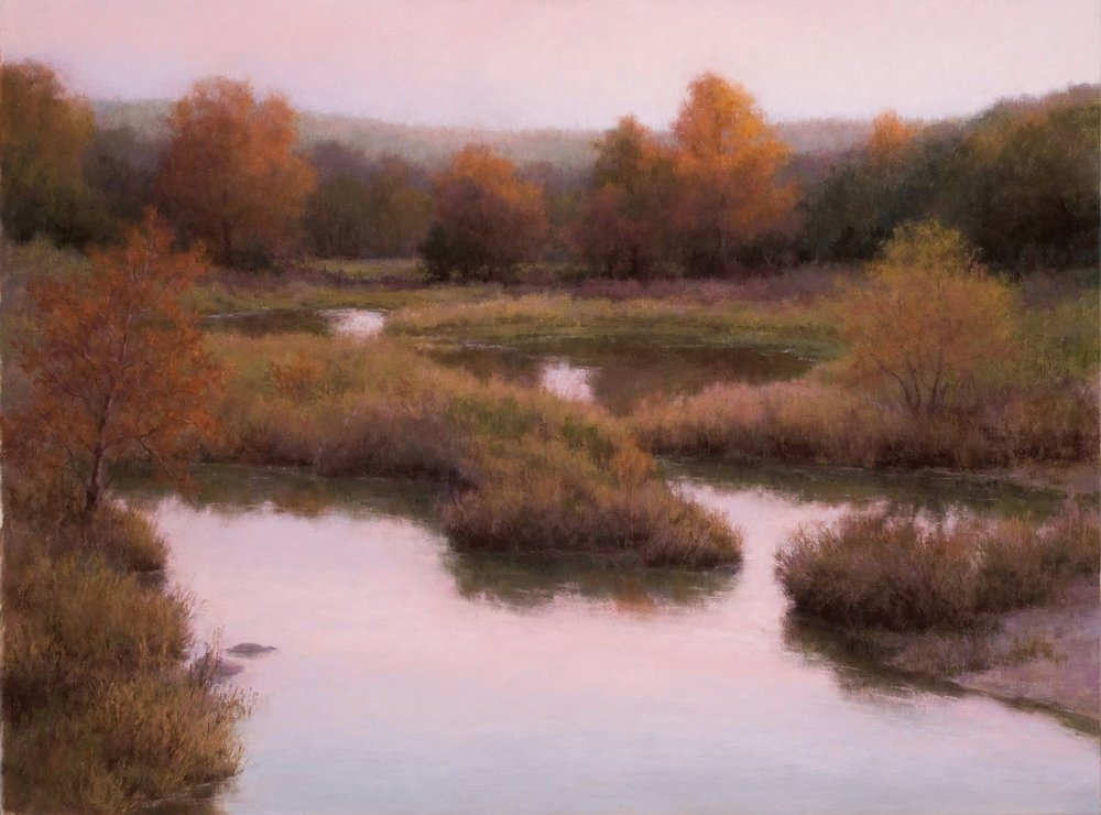 Twilight On Spring Creek