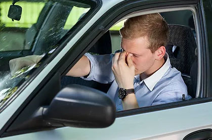 Neck and Shoulder Pain While Driving