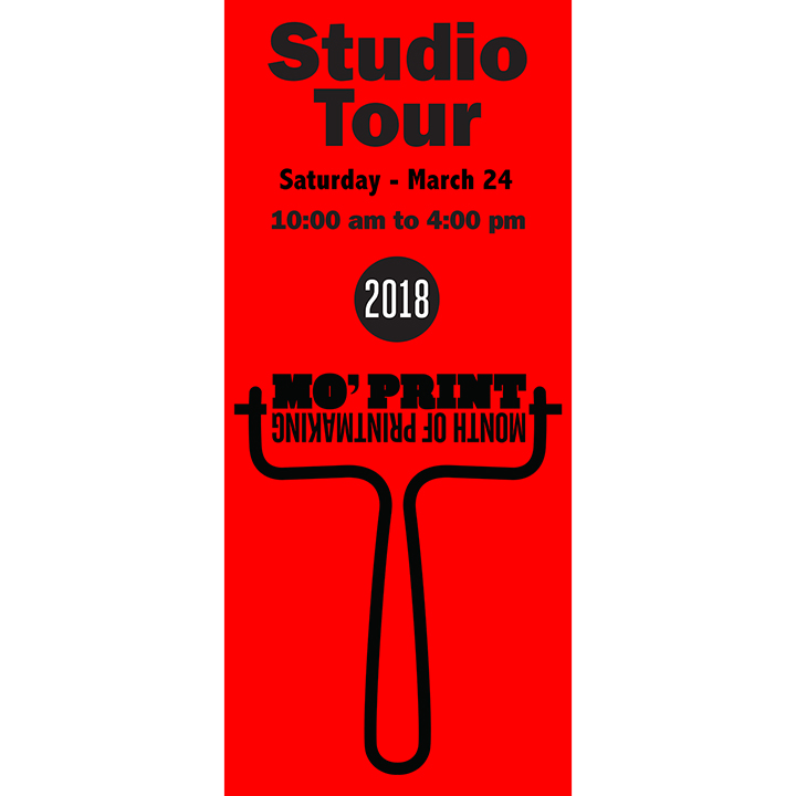 Studio & Print Tour - Saturday, March 24, 201810:00 AM - 4:00 PMFree to attend.