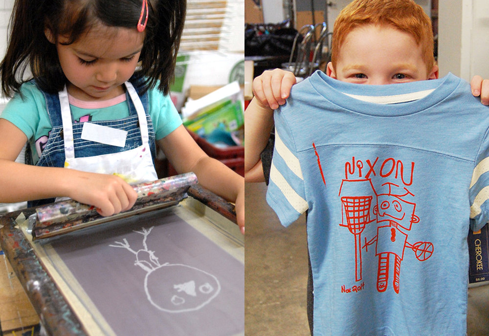 Kids T-Shirt Workshop - March 17, 20181:00 PM - 3:30 PMCost: $25  (fabric not included)Ink Lounge29 South Fox St., Denver, CO 80223