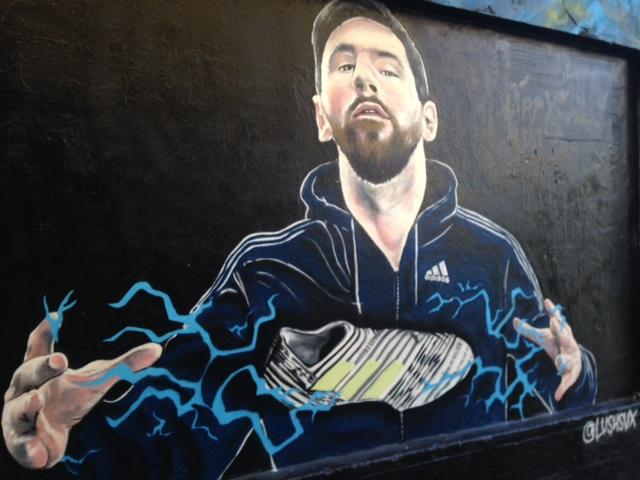Messi in Melbourne.