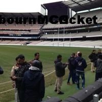 On the Ground at the Melbourne Cricket Ground(MCG)