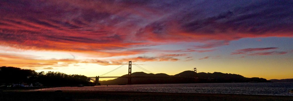 San Francisco, Golden Gate Bridge. Photograph and Copyright © 2016, Jonathan Foley
