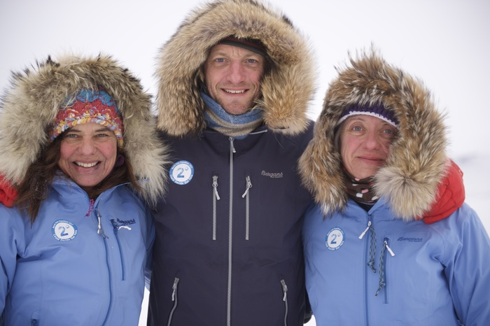Left to right: Bernice Notenboom, Martin Hartley, and Ann Daniels