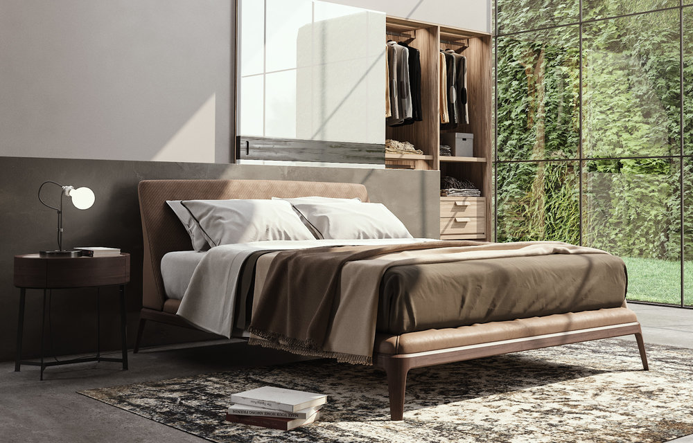 Kelly Poliform Bed