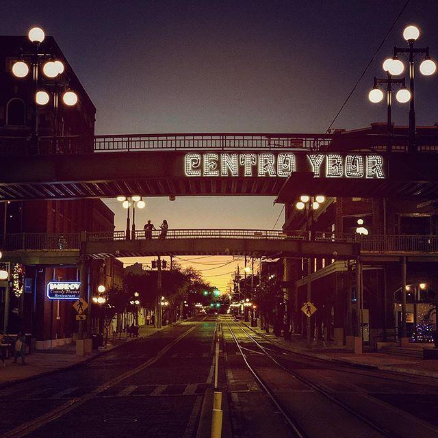 Centro Ybor #yborcity #dinner #january #2019 #newyear #work #iphonex #florida #tampa #city #historic