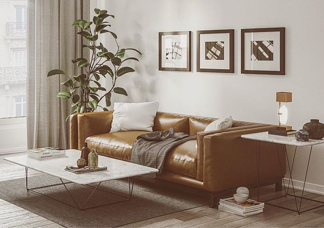 My personal composition inspired by westelm, sofa and tables modeled with 3dsmax render with Corona used all substance material source. www.sciontidesign.com #sofa #leather #living #render #rendering #composition #substance #westelm #3d #modeling #highpoly #realism #mood #archviz #interiordesign #corona #coronarender #allegorithmic @allegorithmic @chaosgroup @coronarender @westelm @westelmtampa