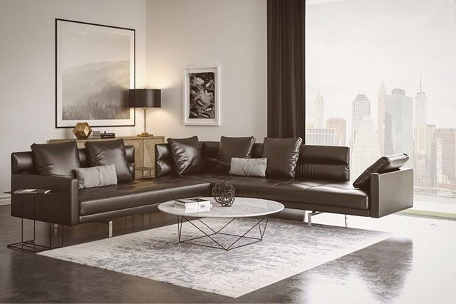 My personal composition render inspired by @walterknoll_official  Render with vray gpu and 3dsmax www.sciontidesign.com #walterknoll #eoos #vray #living #inspiration #mood #photography #sofa #leather #render #gpu #interiordesign #visualization #3d #3dsmax #design #archviz #composition #livingroom #newyork #modern #minimal @chaosgroup @eoosdesign