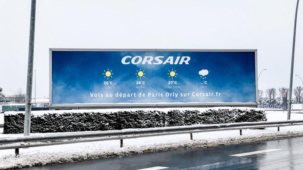corsair orly meteo