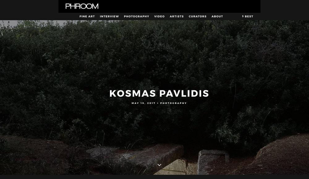 Phroom magazine Kosmas Pavlidis.jpg