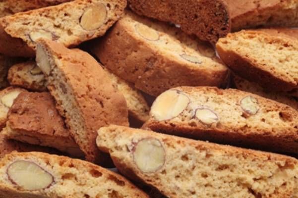 biscotti made with rapeseed oil