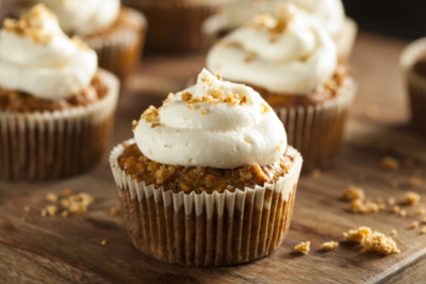 carrot cake recipe made with rapeseed oil