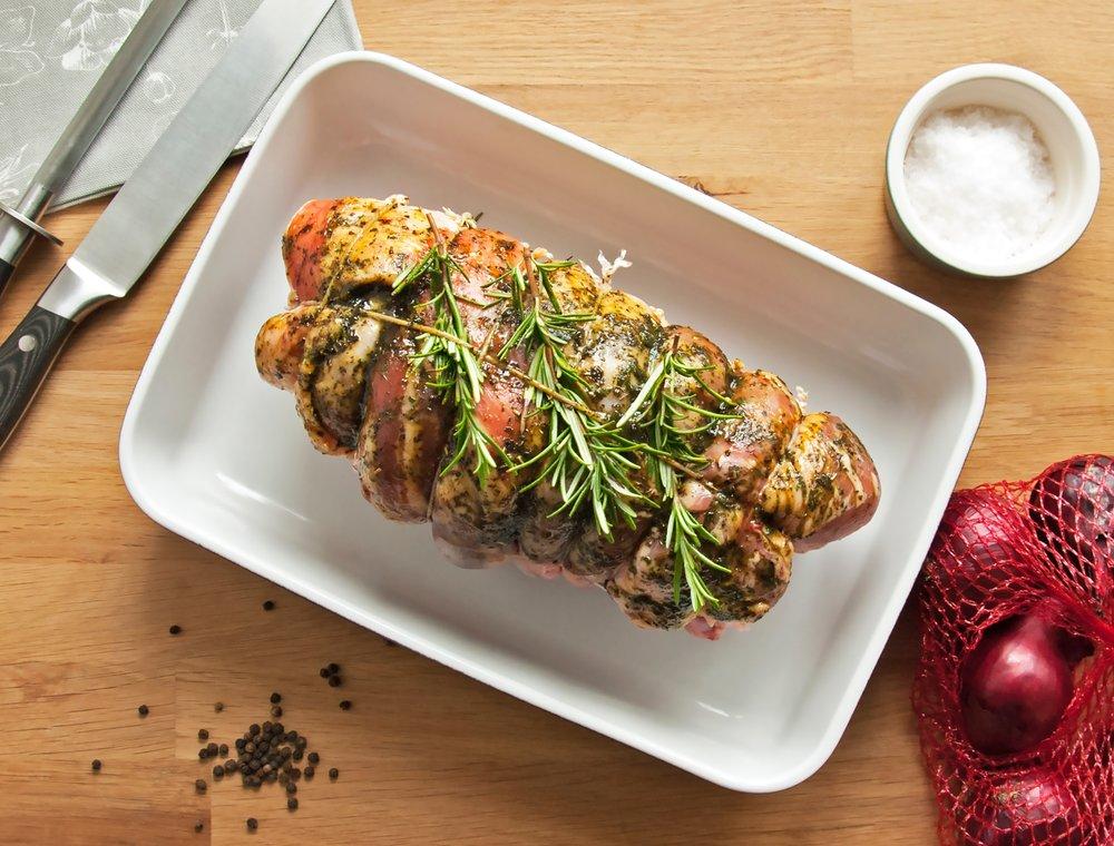 roast lamb using rapeseed oil