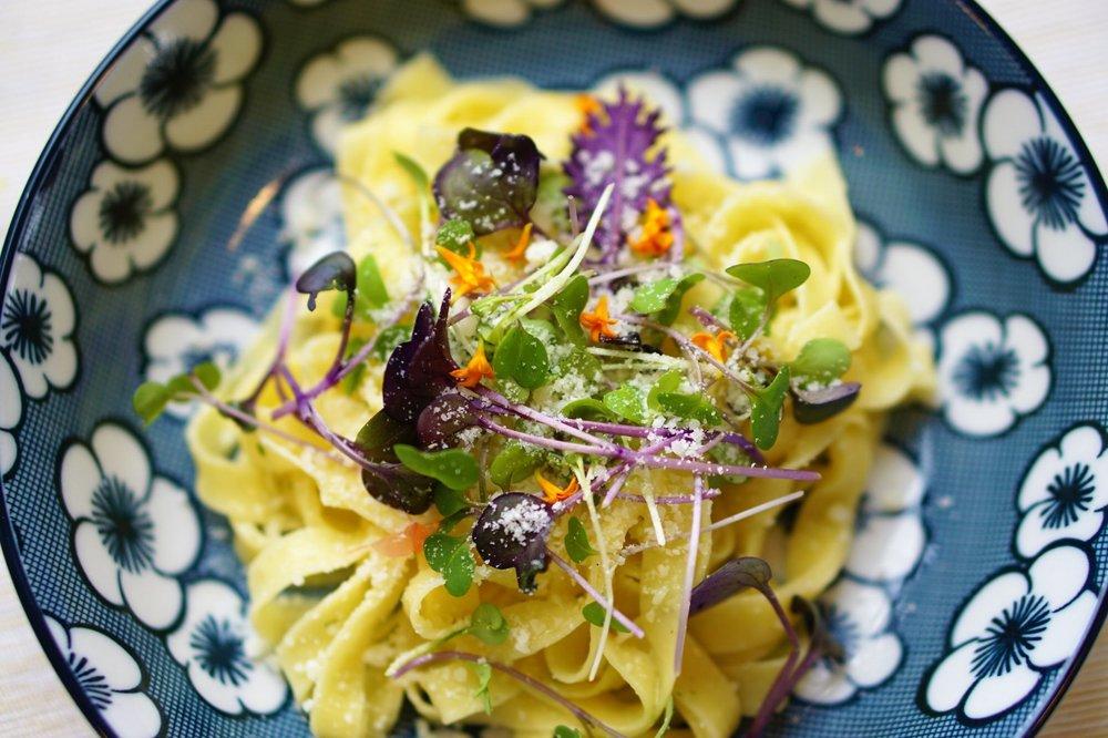Spring Vegetable Tagliatelle