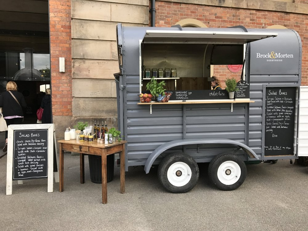 healthy mobile event catering