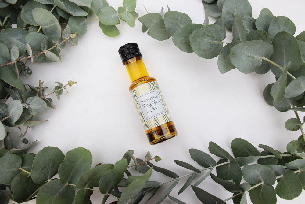 Truffle Oil made with rapeseed oil