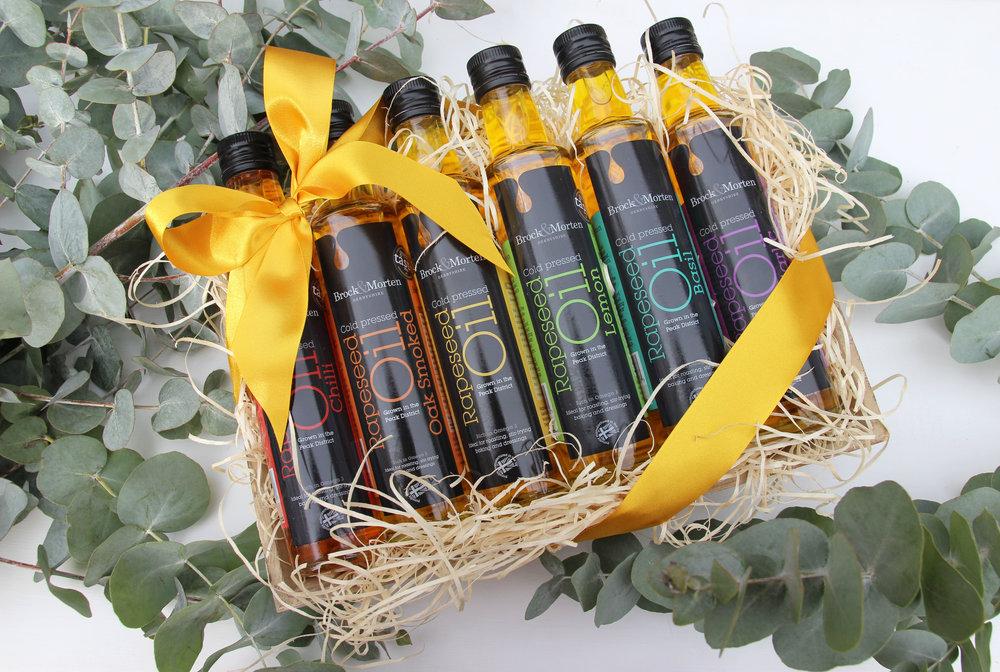 rapeseed oil hampers