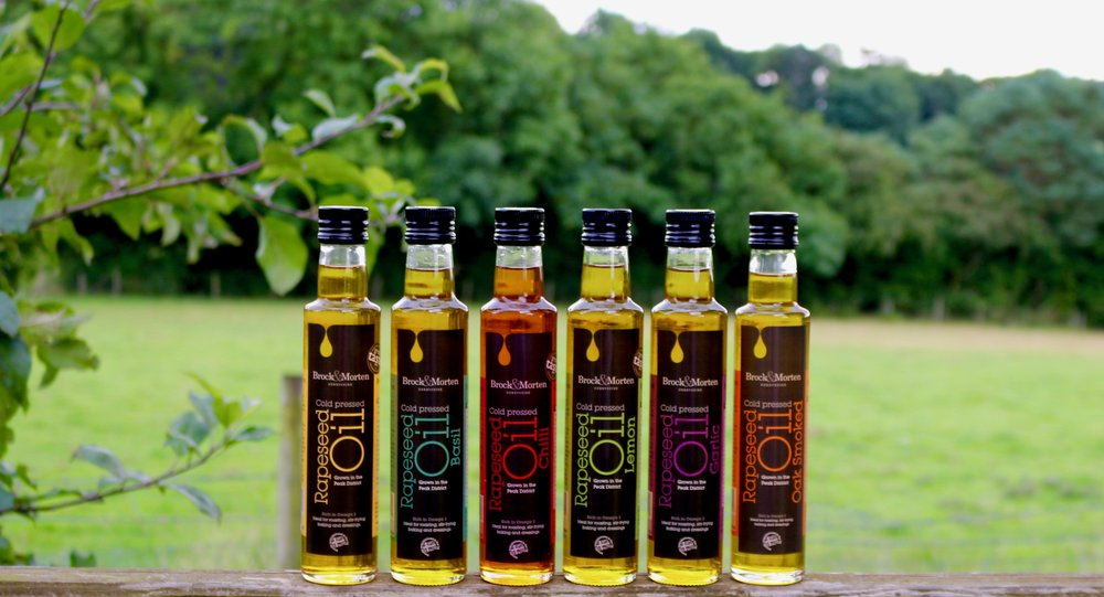 flavoured rapeseed oil