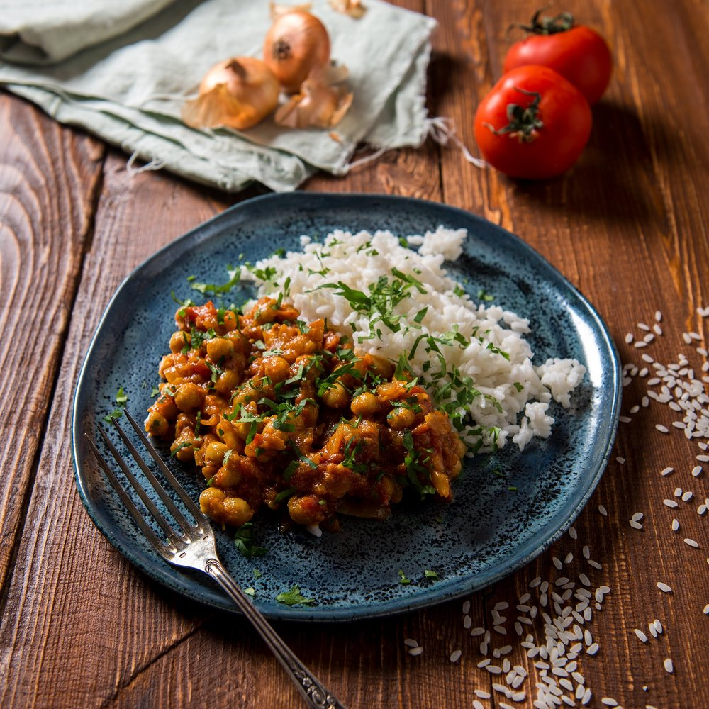 Quick & easy curry -
