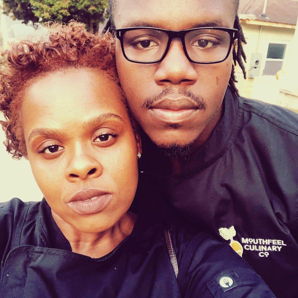 Chef Enita and Isaiah Thomas