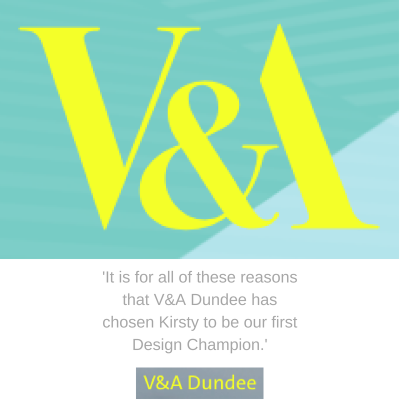 V&A Dundee - Design Champion
