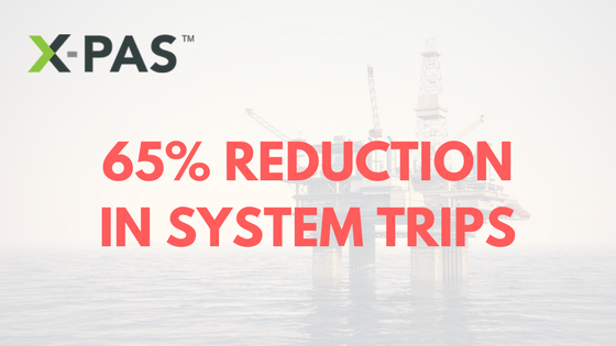 X-PAS 65% Reduction in System Trips