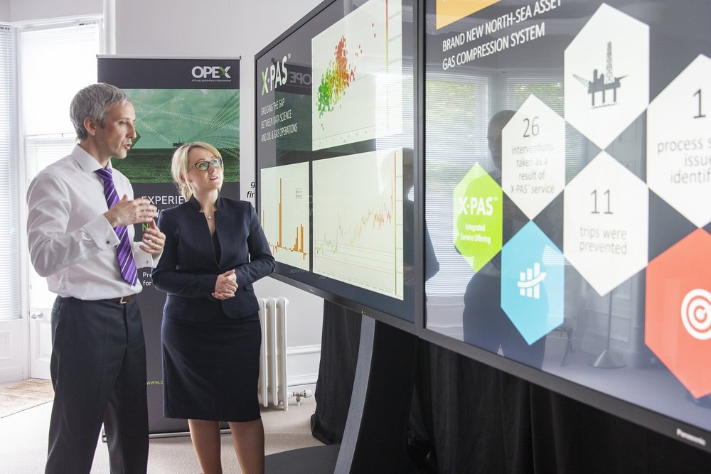 Rebecca Long-Bailey meets with OPEX's VP of Data Science