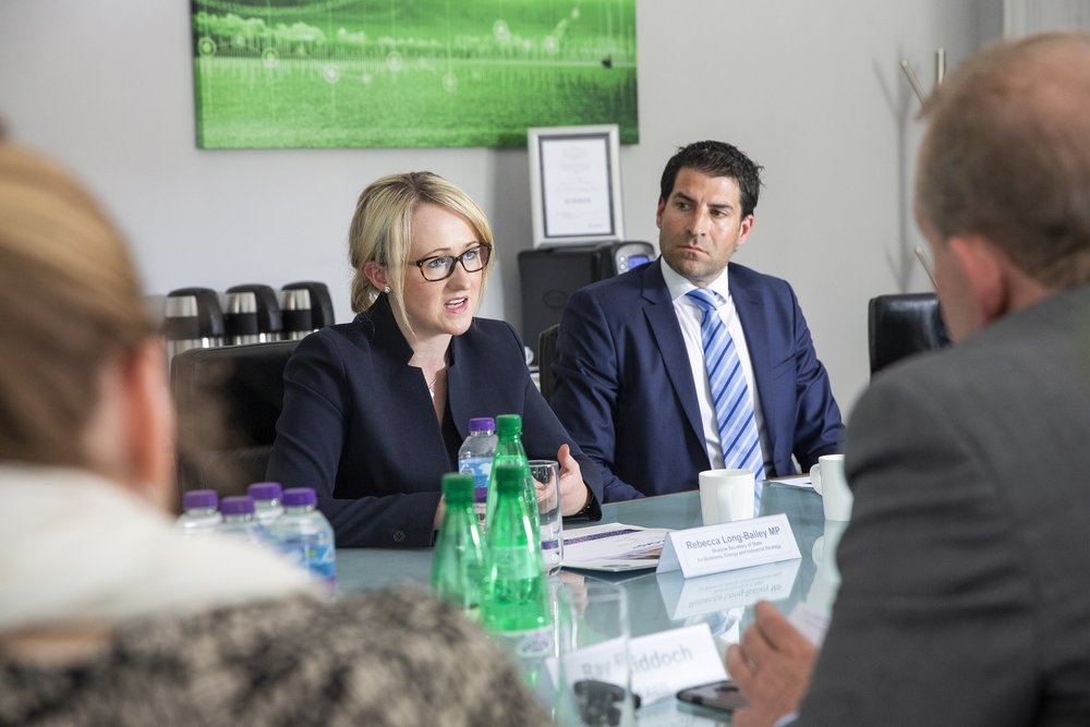Oil & Gas UK meeting with Rebecca Long-Bailey