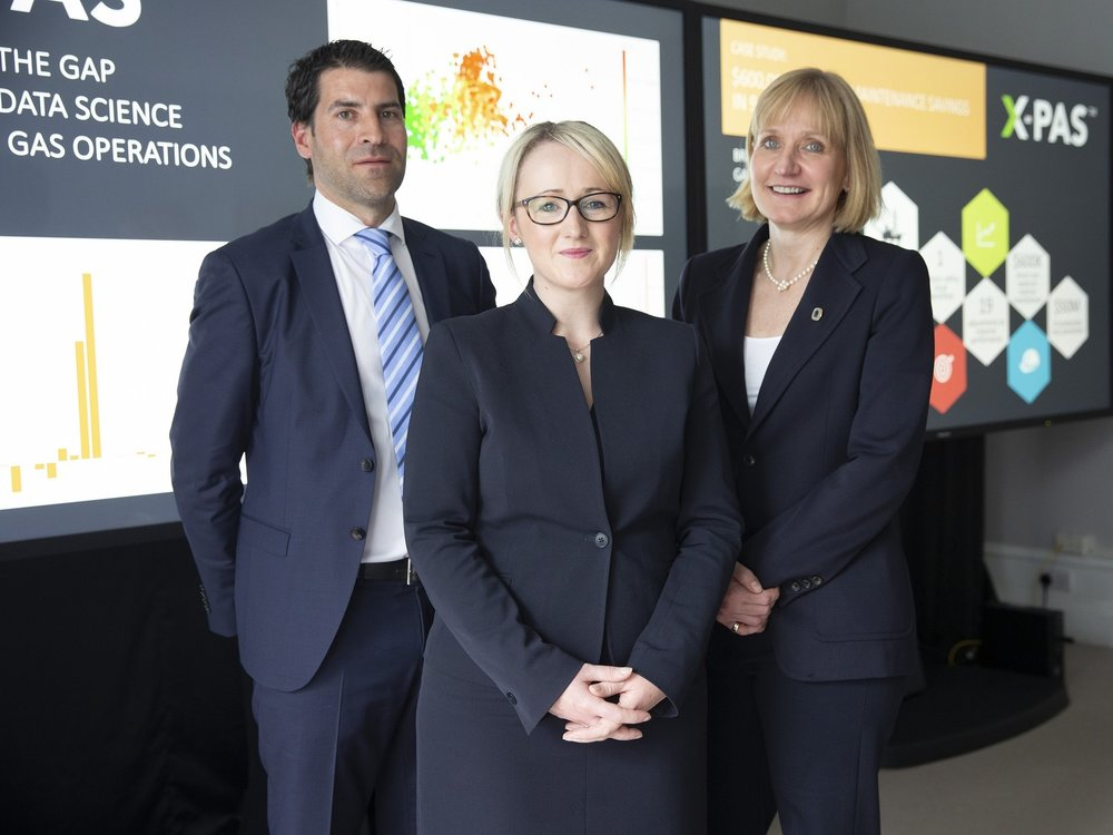Jamie Bennett, Rebecca Long-Bailey and Deirdre Michie
