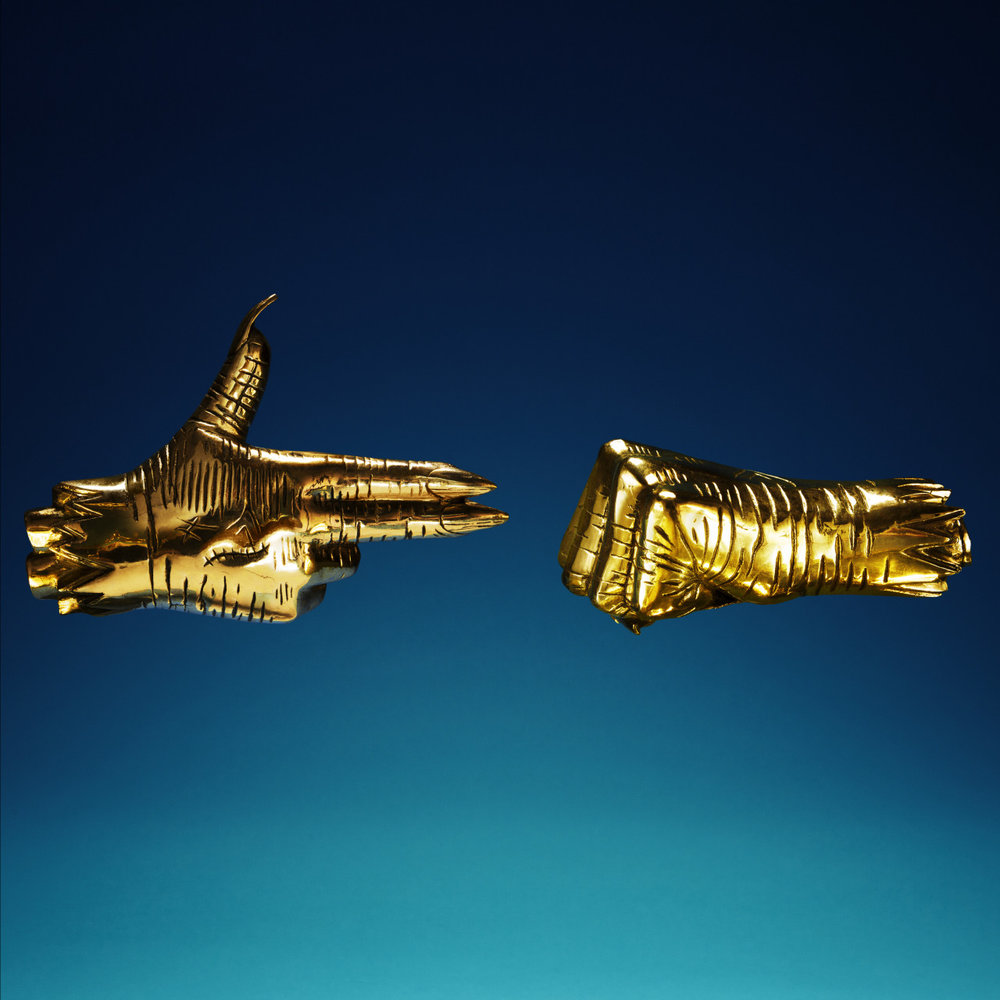 Cover artwork for the latest Run The Jewels album release, shot by NYC's  Timothy Saccenti .