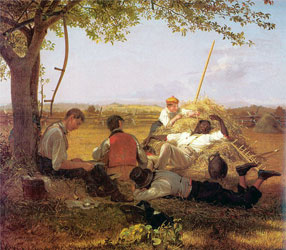 Farmers Nooning (STAR Oil Painting Studio)