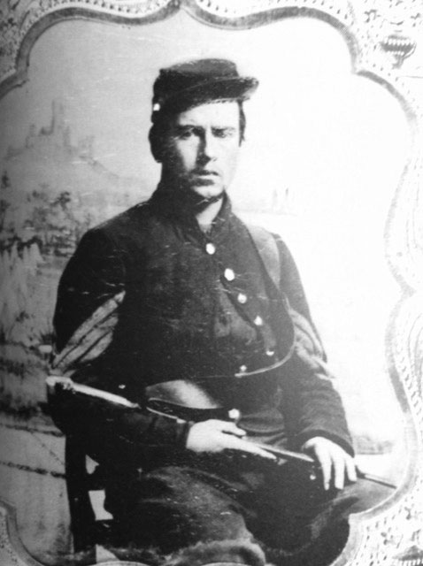 Sgt. Horace Smith, 82nd Ohio.