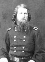 Figure 2: James St. Clair Morton upon being promoted to Brig. General in 1863