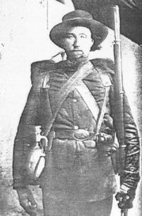 Figure 8: Garret Larew – 1st Battalion, Pioneer Brigade. Taken 1863