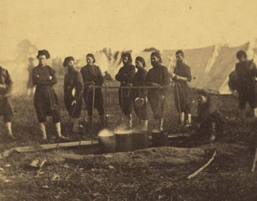 Fortress Monroe, Col. Duryee's Zouaves(3)