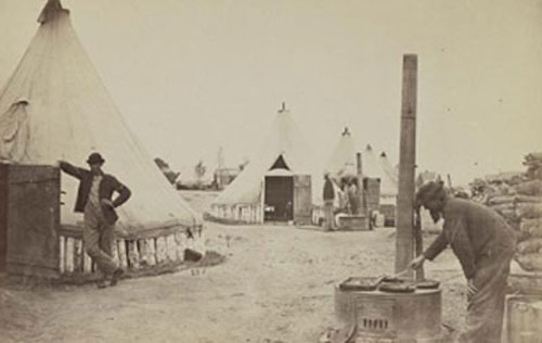 Camp of 153d New York Infantry(24)